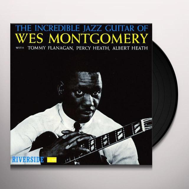 INCREDIBLE JAZZ GUITAR OF WES MONTGOMERY Vinyl Record - Japan Release