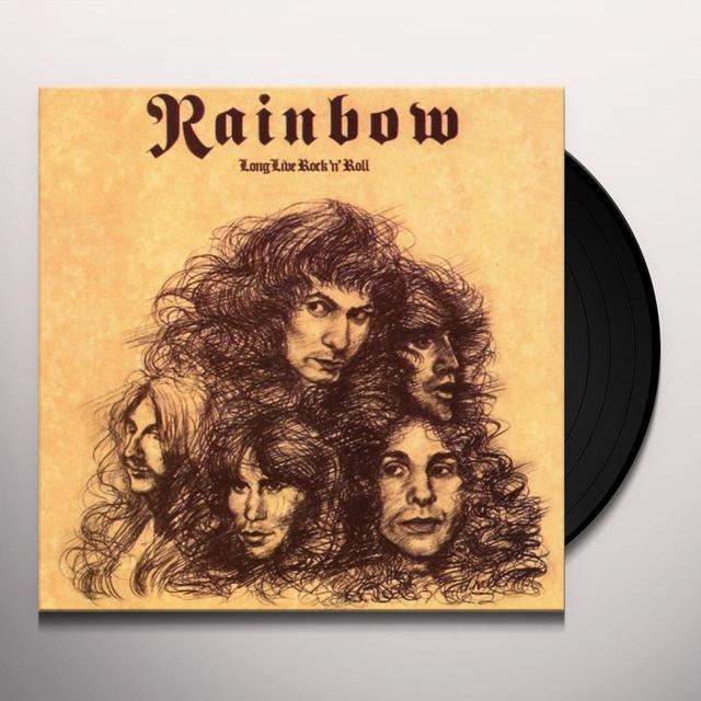 Rainbow LONG LIVE ROCK N ROLL Vinyl Record - 180 Gram Pressing, Japan Import