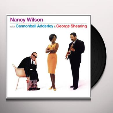 Nancy Wilson WITH CANNONBALL ADDERLEY & GEORGE SHEARING Vinyl Record