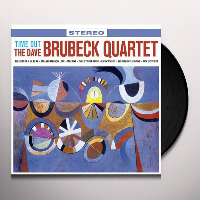Dave Brubeck TIME OUT Vinyl Record - 180 Gram Pressing, Remastered