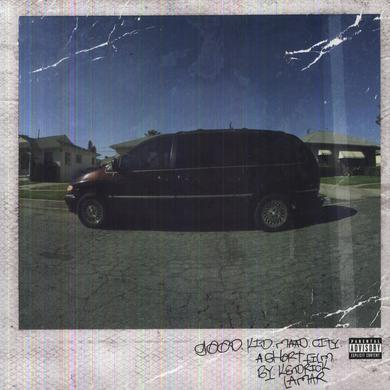 Kendrick Lamar GOOD KID: M.A.A.D CITY Vinyl Record