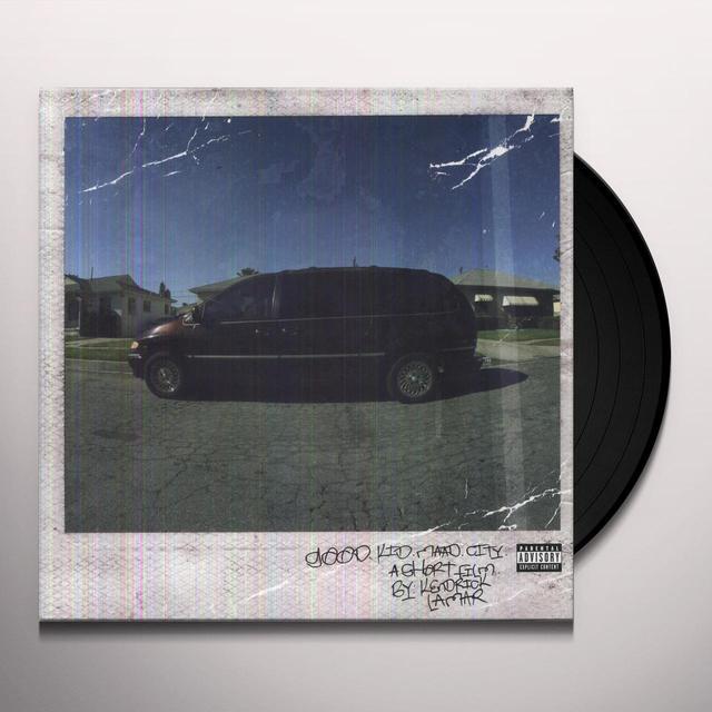 Kendrick Lamar GOOD KID: M.A.A.D CITY Vinyl Record