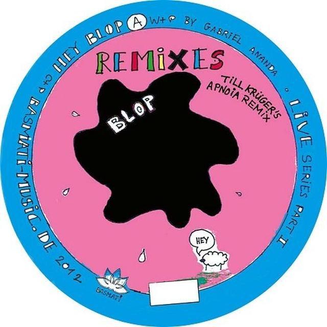 Gabriel Ananda HEY BLOP Vinyl Record
