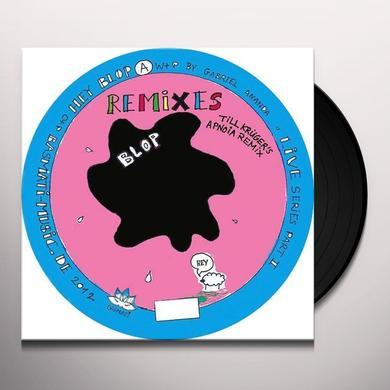 Gabriel Ananda HEY BLOP Vinyl Record - Remixes