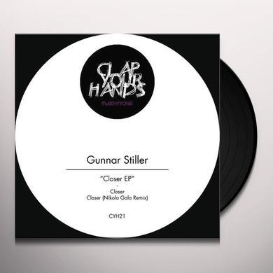 Gunnar Stiller CLOSER (EP) Vinyl Record