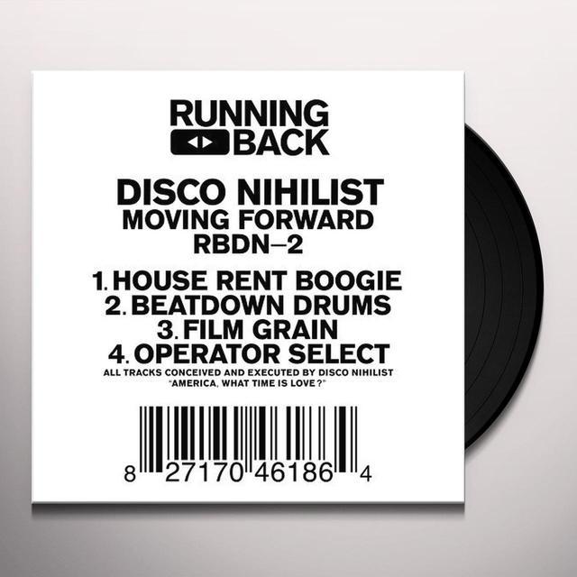 Disco Nihilist MOVING FORWARD Vinyl Record