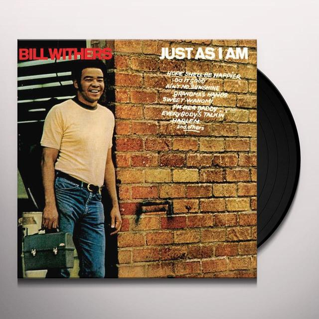 Bill Withers JUST AS I AM Vinyl Record - 180 Gram Pressing