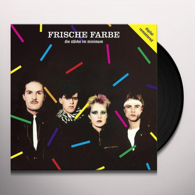 Frische Farbe DIE STARKE IM MINIMUM Vinyl Record