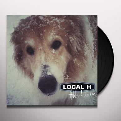 Local H HALLELUJAH I'M A BUM Vinyl Record