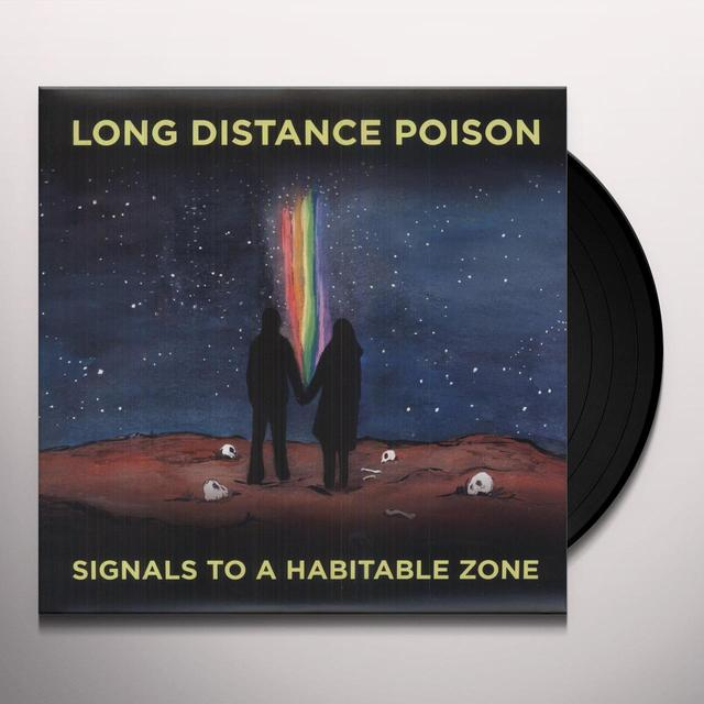 Long Distance Poison SIGNALS TO A HABITABLE ZONE (W/DVD) (2PK) Vinyl Record