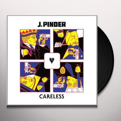 J Pinder CARELESS Vinyl Record