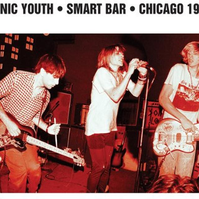 Sonic Youth SMART BAR CHICAGO 1985 Vinyl Record