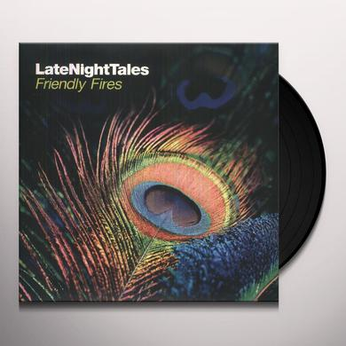 Friendly Fires LATE NIGHT TALES Vinyl Record - Black Vinyl, Gatefold Sleeve, 180 Gram Pressing, Digital Download Included