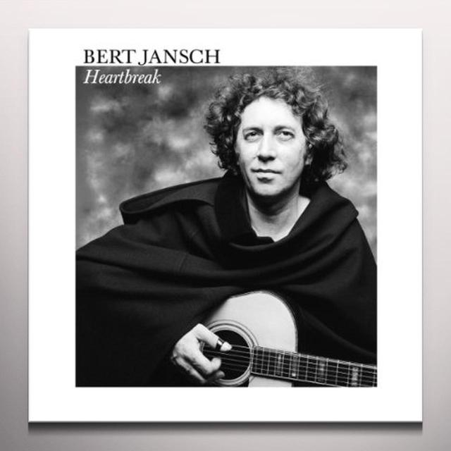 Bert Jansch HEARTBREAK Vinyl Record - Clear Vinyl, Limited Edition, Remastered, Reissue