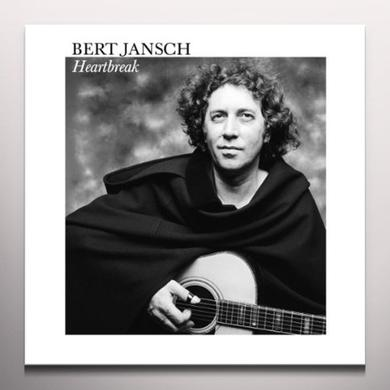 Bert Jansch HEARTBREAK Vinyl Record - Clear Vinyl, Limited Edition, Remastered, Reissue