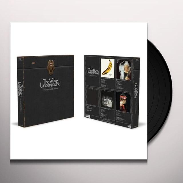 Velvet Underground MGM / VERVE ALBUMS (BOX) Vinyl Record
