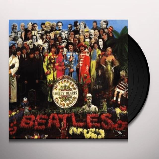The Beatles SGT PEPPER'S LONELY HEARTS CLUB BAND Vinyl Record - 180 Gram Pressing, Remastered