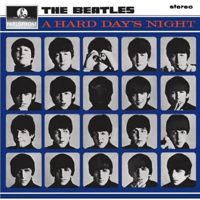 The Beatles HARD DAY'S NIGHT Vinyl Record