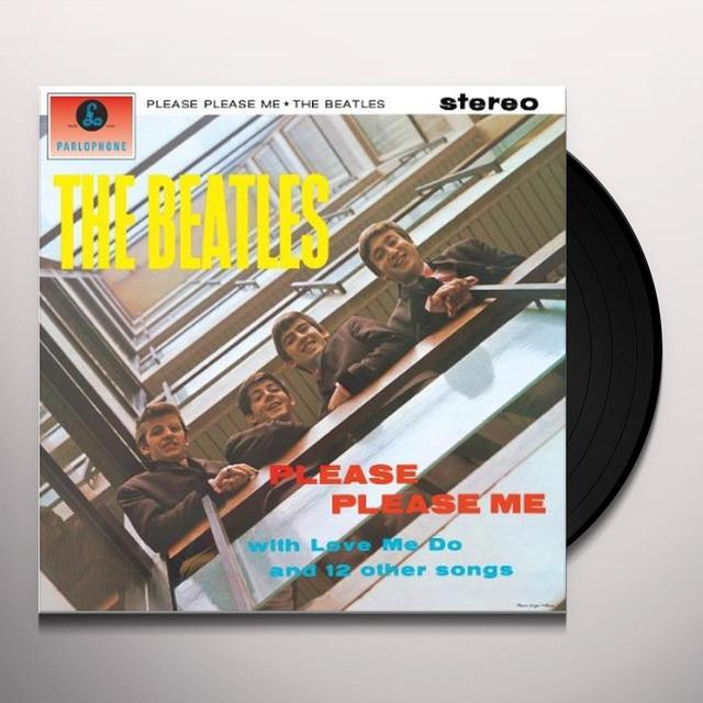 The Beatles PLEASE PLEASE ME Vinyl Record - 180 Gram Pressing, Remastered, Reissue