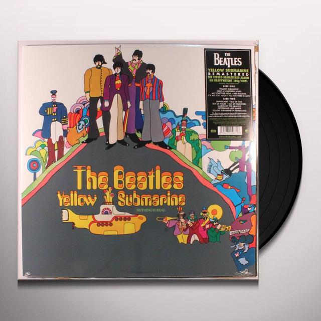 The Beatles YELLOW SUBMARINE Vinyl Record - 180 Gram Pressing, Remastered, Reissue