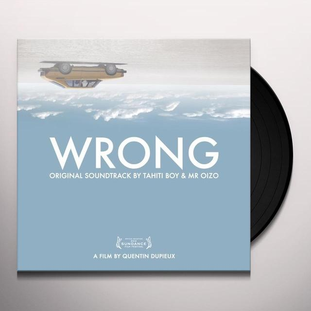 Wrong / O.S.T. (W/Cd) WRONG / O.S.T. Vinyl Record - w/CD