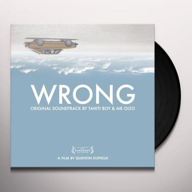 Wrong / O.S.T. (W/Cd) WRONG / O.S.T. Vinyl Record