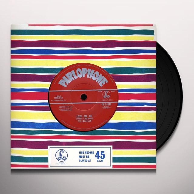 The Beatles LOVE ME DO / P.S. I LOVE YOU Vinyl Record - Limited Edition