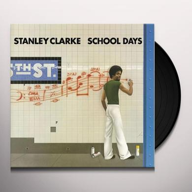 Stanley Clarke SCHOOL DAYS Vinyl Record - Holland Import