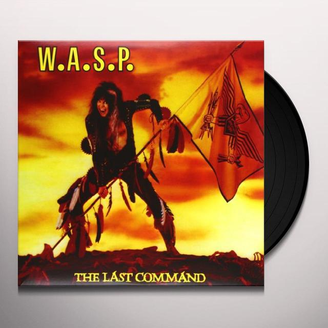 Wasp LAST COMMAND Vinyl Record
