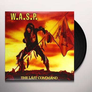 Wasp LAST COMMAND Vinyl Record