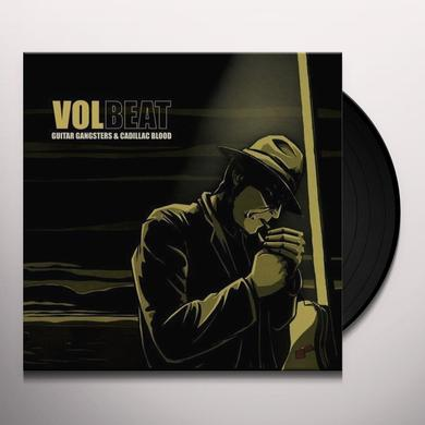 Volbeat GUITAR GANGSTER & CADILLAC BLOOD Vinyl Record - Picture Disc