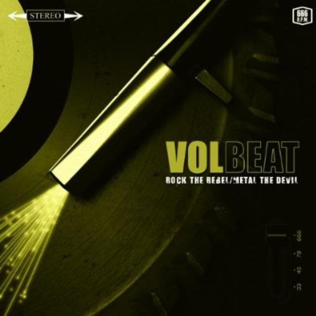 Volbeat ROCK THE REBEL / METAL THE DEVIL Vinyl Record