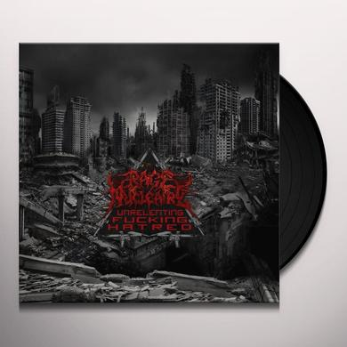 Rage Nucleaire UNRELENTING FUCKING HATRED Vinyl Record