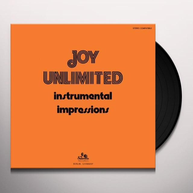Joy Unlimited INSTRUMENTAL IMPRESSIONS Vinyl Record