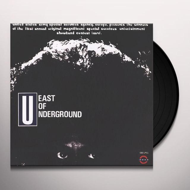 EAST OF UNDERGROUND / SOAP Vinyl Record