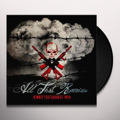 All That Remains WAR YOU CANNOT WIN Vinyl Record