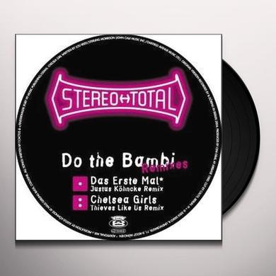 Stereo Total DO THE BAMBI Vinyl Record - Remixes