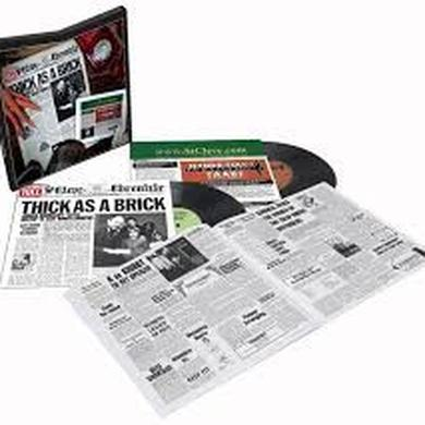 Jethro Tull THICK AS A BRICK / THICK AS A BRICK 2 Vinyl Record