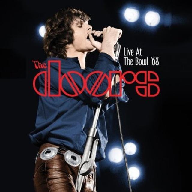 The Doors LIVE AT THE BOWL 68 Vinyl Record - 180 Gram Pressing