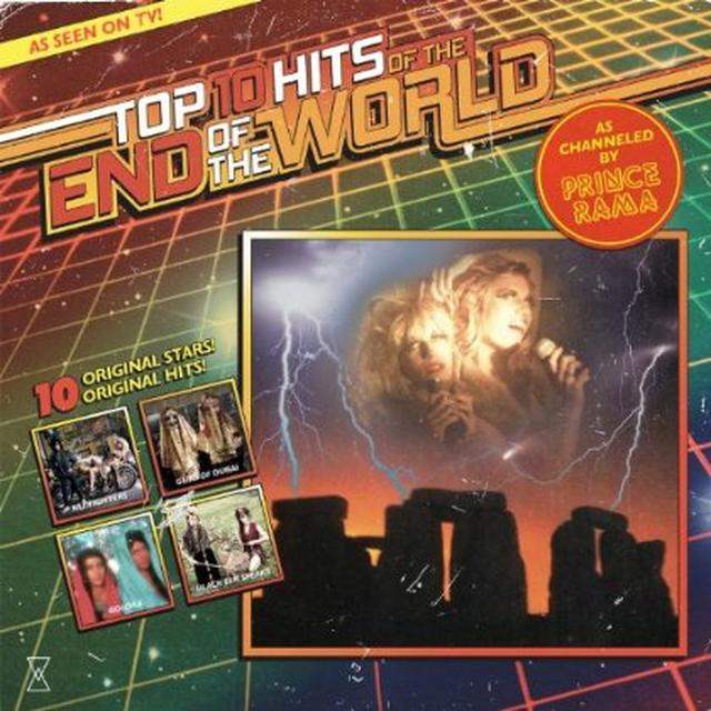 Prince Rama TOP TEN HITS OF THE END OF THE WORLD Vinyl Record