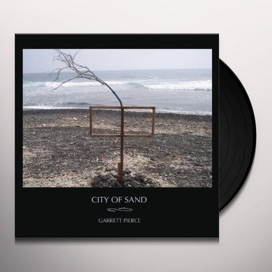 Garrett Pierce CITY OF SAND Vinyl Record - 180 Gram Pressing, Digital Download Included