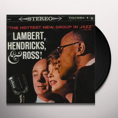 Lambert Hendricks & Ross HOTTEST NEW GROUP IN JAZZ Vinyl Record