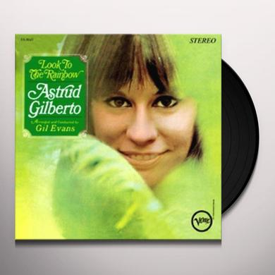Astrud Gilberto LOOK TO RAINBOW Vinyl Record