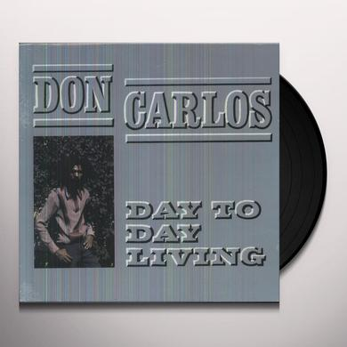 Don Carlos DAY TO DAY LIVING Vinyl Record