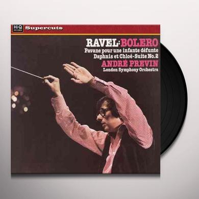 Ravel / Previn / London Symphony Orchestra BOLERO Vinyl Record - 180 Gram Pressing