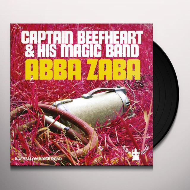 Captain Beefheart ABBA ZABA Vinyl Record