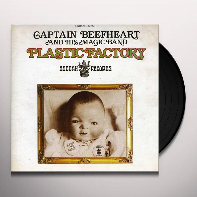 Captain Beefheart PLASTIC FACTORY Vinyl Record