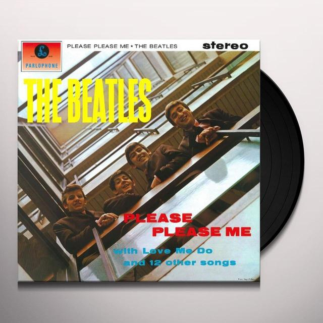 The Beatles PLEASE PLEASE ME Vinyl Record - Limited Edition, 180 Gram Pressing, Remastered, Japan Release