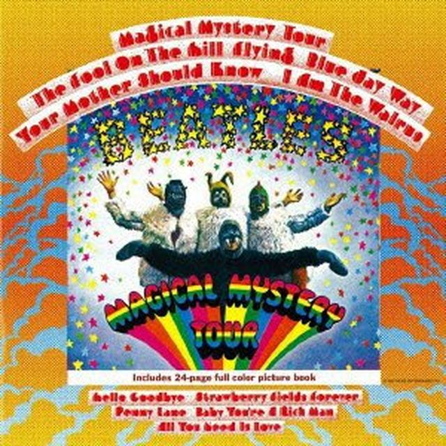 The Beatles MAGICAL MYSTERY TOUR Vinyl Record - Limited Edition, 180 Gram Pressing, Remastered, Japan Import