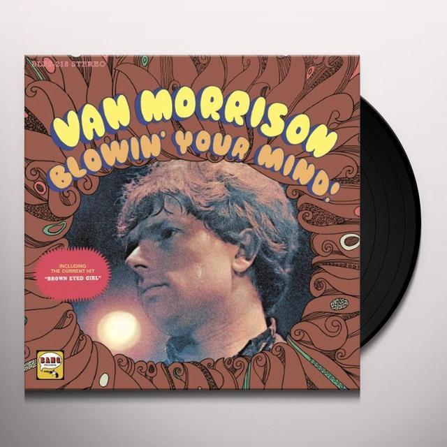 Van Morrison BLOWING YOUR MIND Vinyl Record
